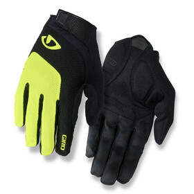 Giro Bravo Gel LF Gloves highlight yellow